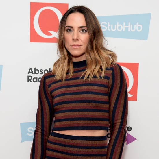 Melanie C Wearing Victoria Beckham Stripe Sweater