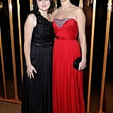 Vanessa Glodjo and Zana Marjanovic attended the afterparty for In the Land of Blood and Honey.