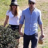 Blake Lively and Ryan Reynolds held hands on a hike in LA.