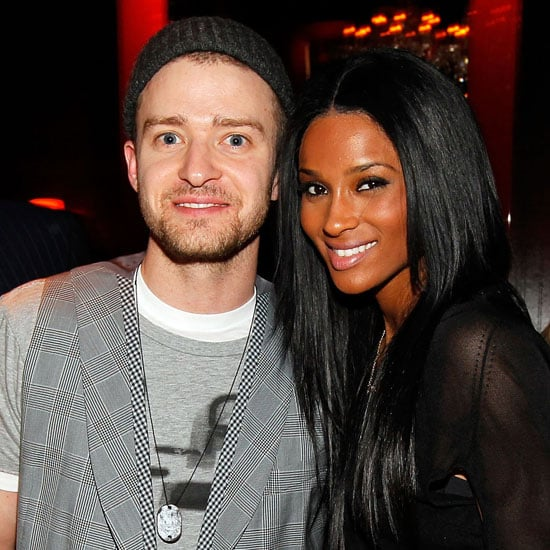 Justin Timberlake snapped a photo with Ciara at Timbaland's April 2010 birthday bash in LA.