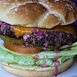 Boysenberry Burger at Spurs