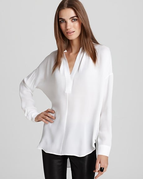 Perfectly billowy, but crisp enough for work-attire.