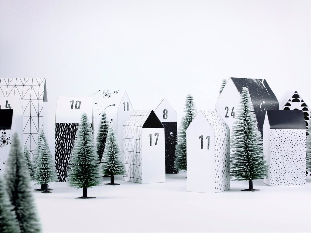 Cute Advent Calendars That Double as Decor.