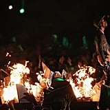 Stormi Watching Travis Scott Perform at the 2019 Super Bowl