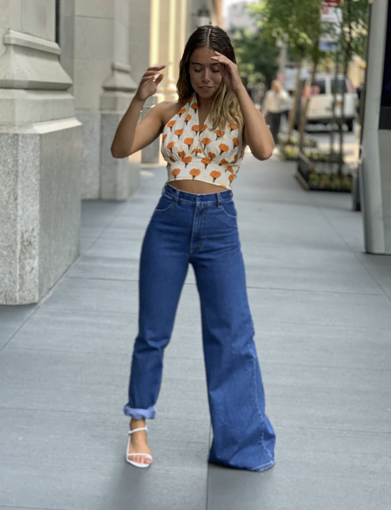 I Tried Out the Ksenia Schnaider Jeans in NYC