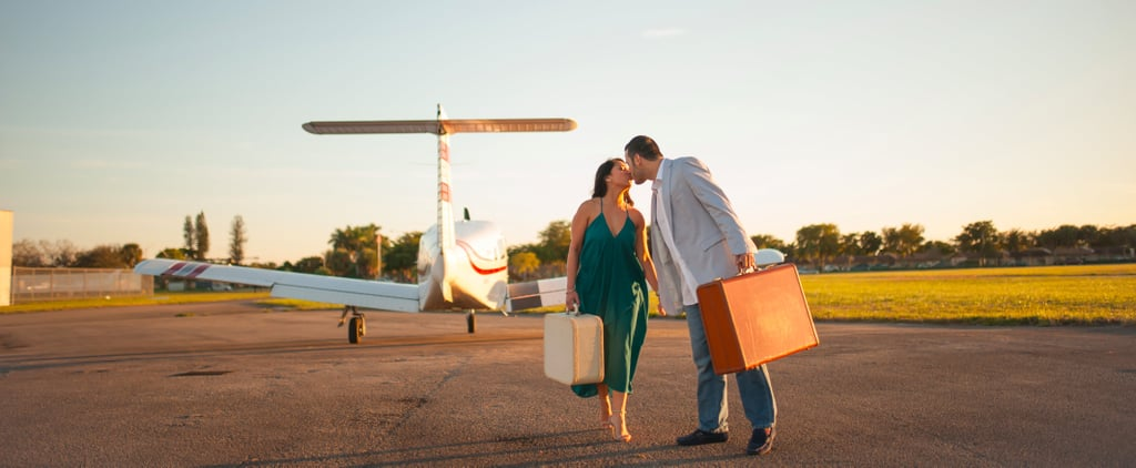 This Couple Showed Their Love For Travel With the Cutest Airport Engagement Shoot