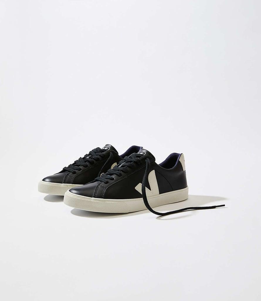 Veja Esplar Leather Black Pierre