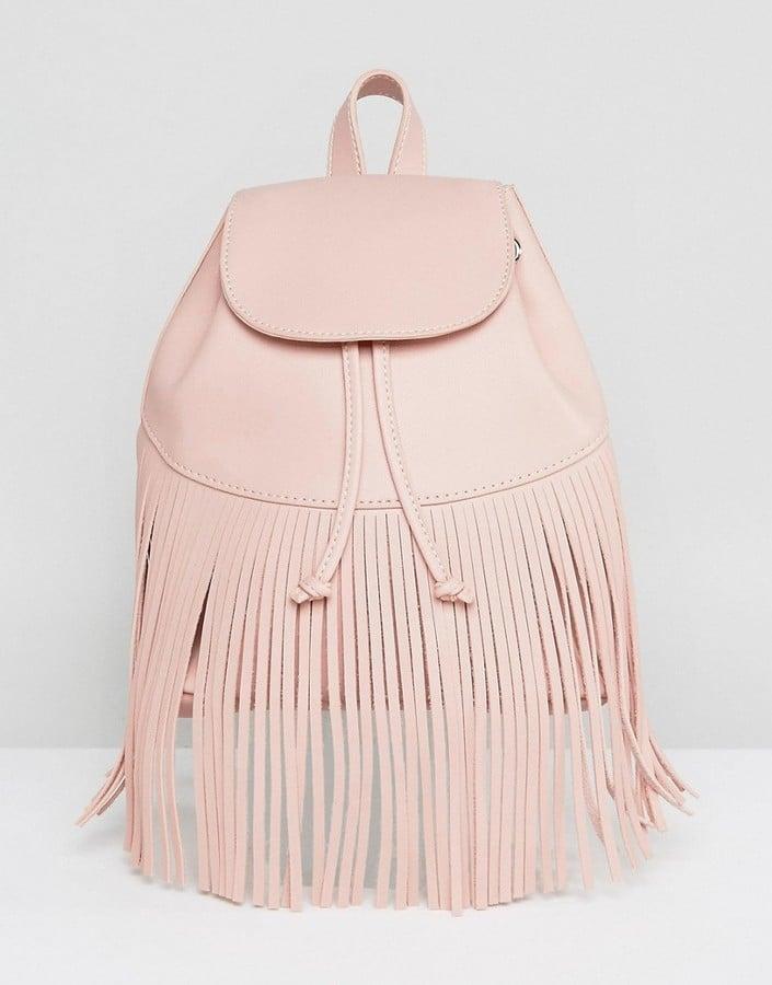 Skinnydip Fringe Detail Backpack