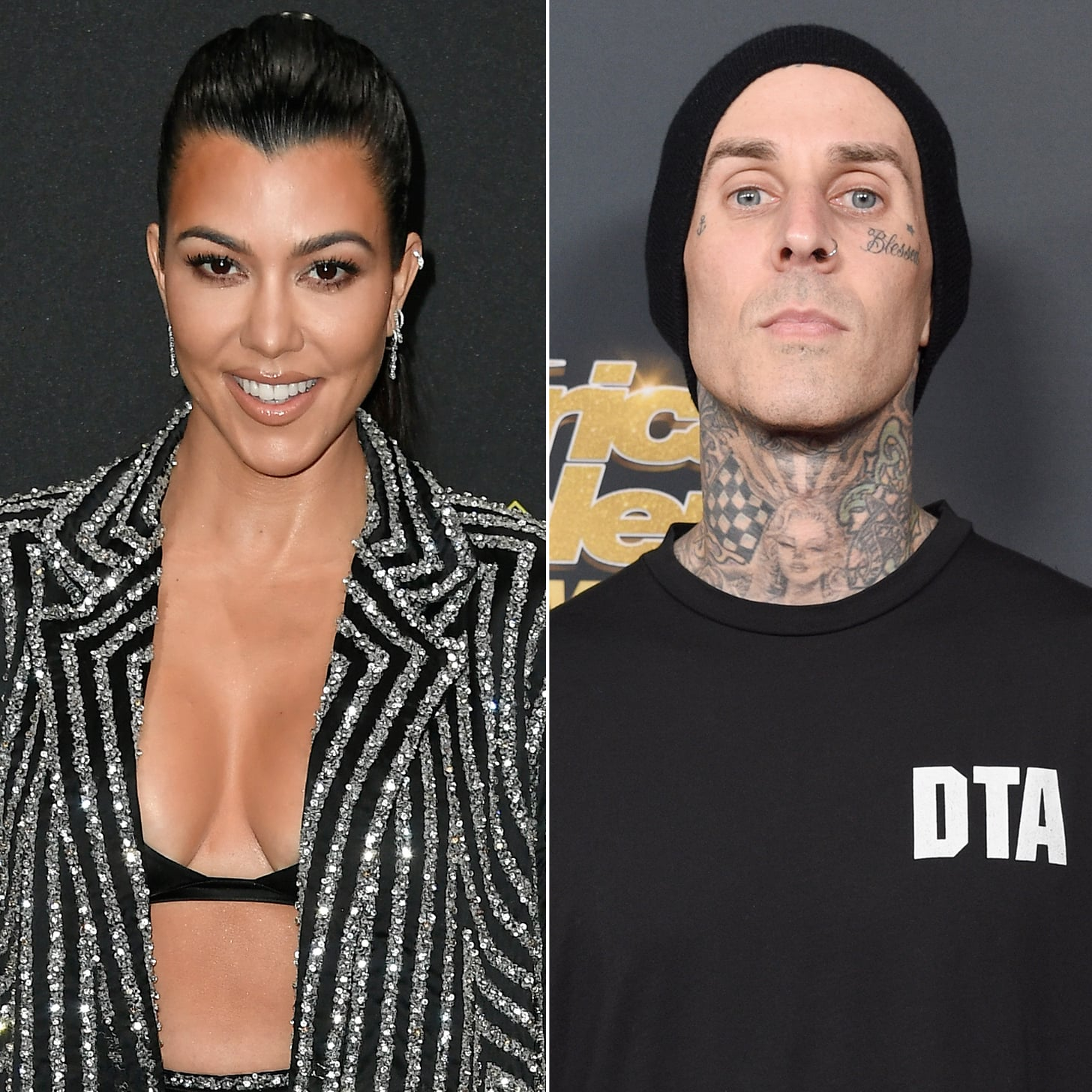 Kourtney Kardashian's Love Note For Travis Barker Is, Um, Unconventional