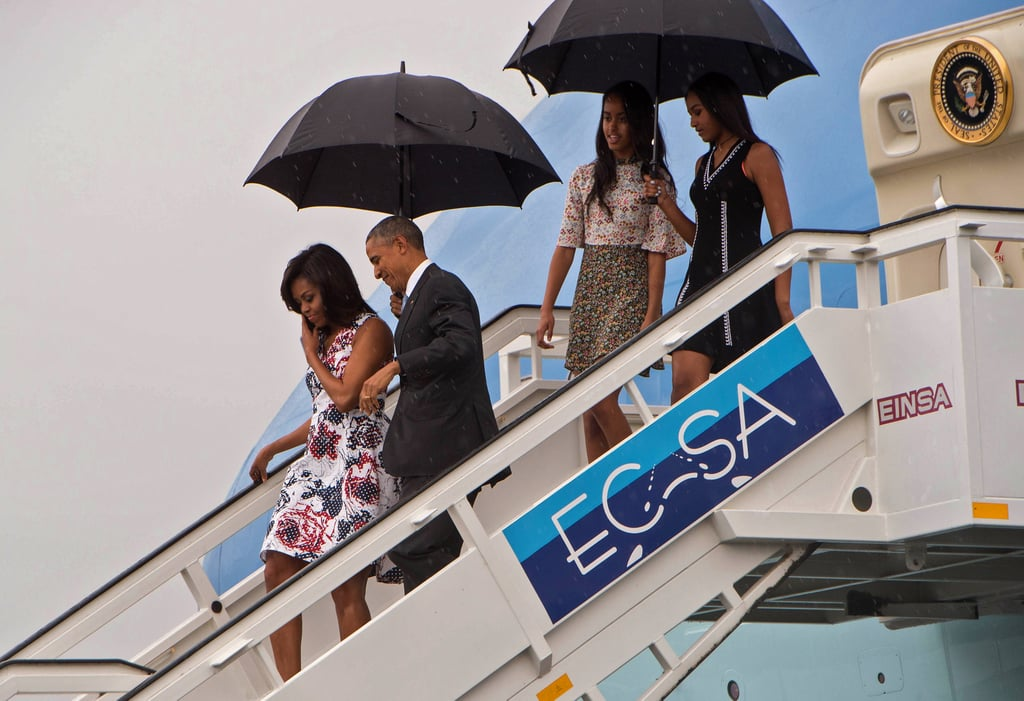 Obama Family Visiting Cuba March 2016