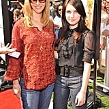 Lisa Kudrow and Emma Roberts