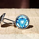 Arc Reactor Cufflinks ($17)