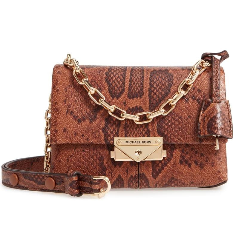 Michael Michael Kors Extra Small CeCe Leather Crossbody Bag