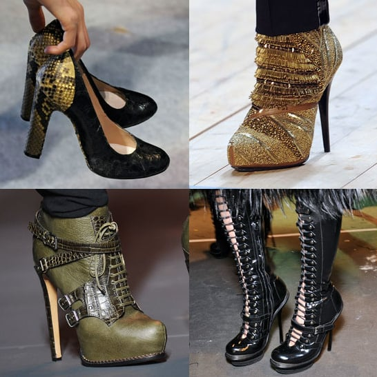 An up-close look at all of the shoes from Paris Fashion Week — which pair(s) do you love?