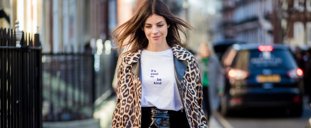 Leopard Print Outfit Ideas From Julia Restoin Roitfeld