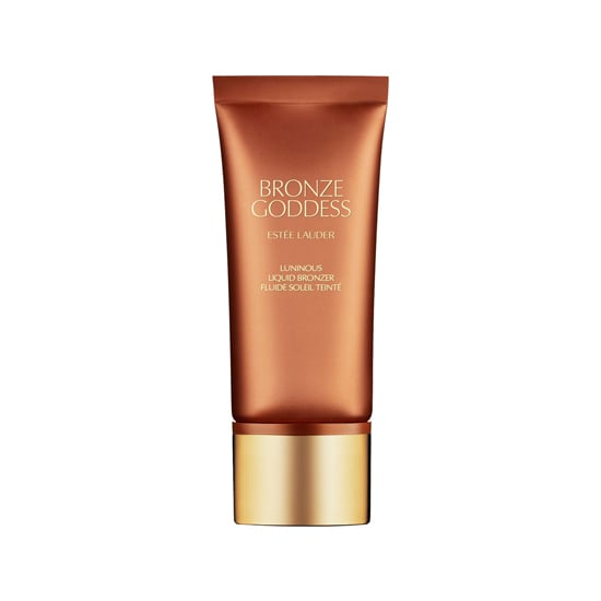 Esteé Lauder Bronze Goddess Liquid Bronzer ($29) has a sheer bronze tint with a touch of illumination. Mix with your foundation to give your entire face a welcome warmth that washes off easily.
