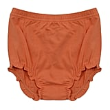 Orange Bloomer Shorts