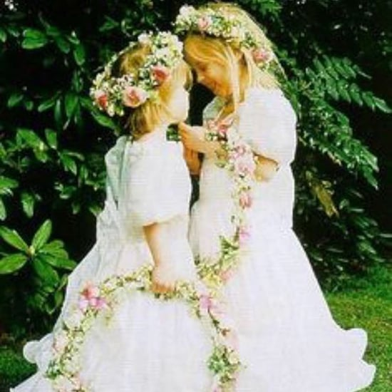 Princess Eugenie and Beatrice Wedding Throwback Photo