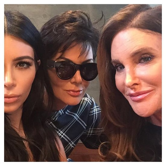 Caitlyn and Kris Jenner Take Their First Instagram Together!