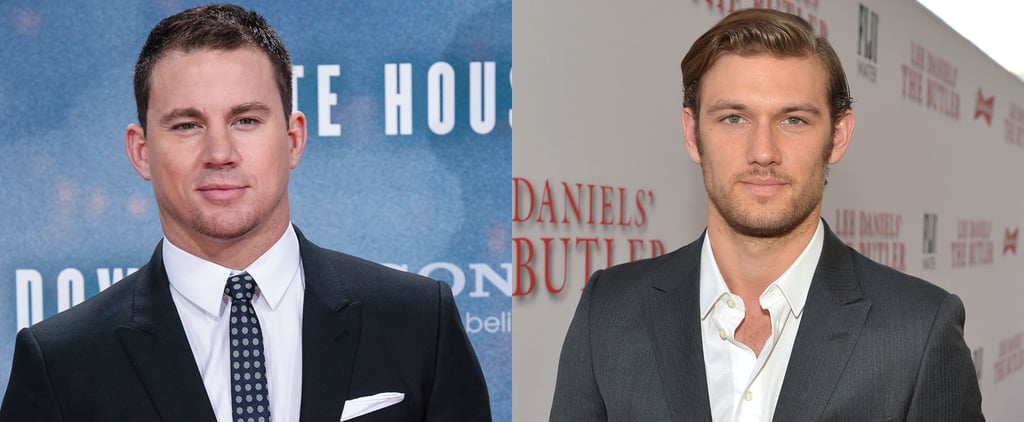 Alex Pettyfer Talks Feud With Channing Tatum