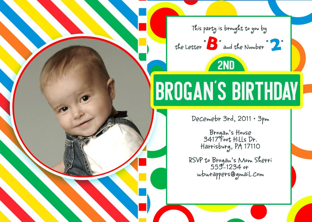 Sesame Street Birthday Invitation Party Ideas For a Sesame Street