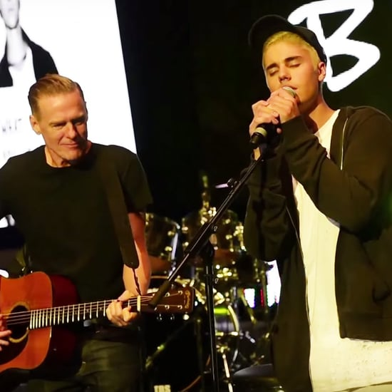 "Justin Bieber and Bryan Adams Sing ""Baby"""