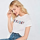 Find Women's Friday Slogan Tee