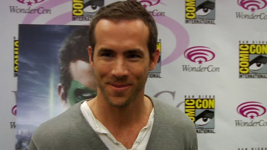 Ryan Reynolds Talks Green Lantern at WonderCon