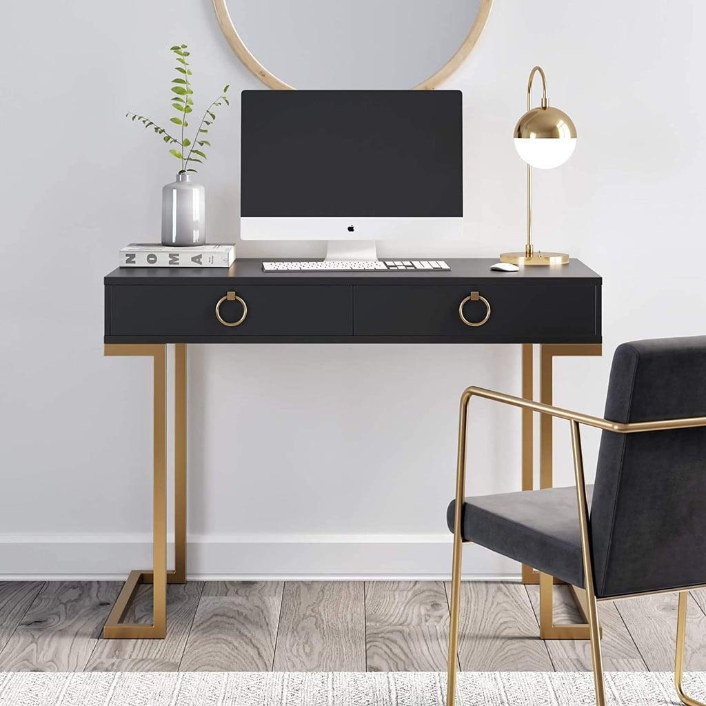 Nathan James Leighton Home Office Computer Desk