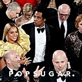 Beyoncé, JAY-Z, and Carol Burnett at the 2020 Golden Globes