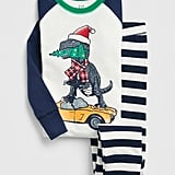 This Kids Holiday Dino PJ Set ($40) merges festive and prehistoric in the cutest way possible.