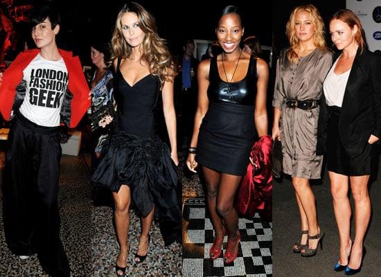 Photos From 30 Days Of Fashion Gala Event Including Kate Hudson, Stella McCartney, Paul McCartney, Jamelia, Elle McPherson etc