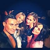 Adam Williams, Jesinta Campbell, Nikki Phillips and Zoe Balbi linked up at a Nespresso event. Source: Instagram user jesintac