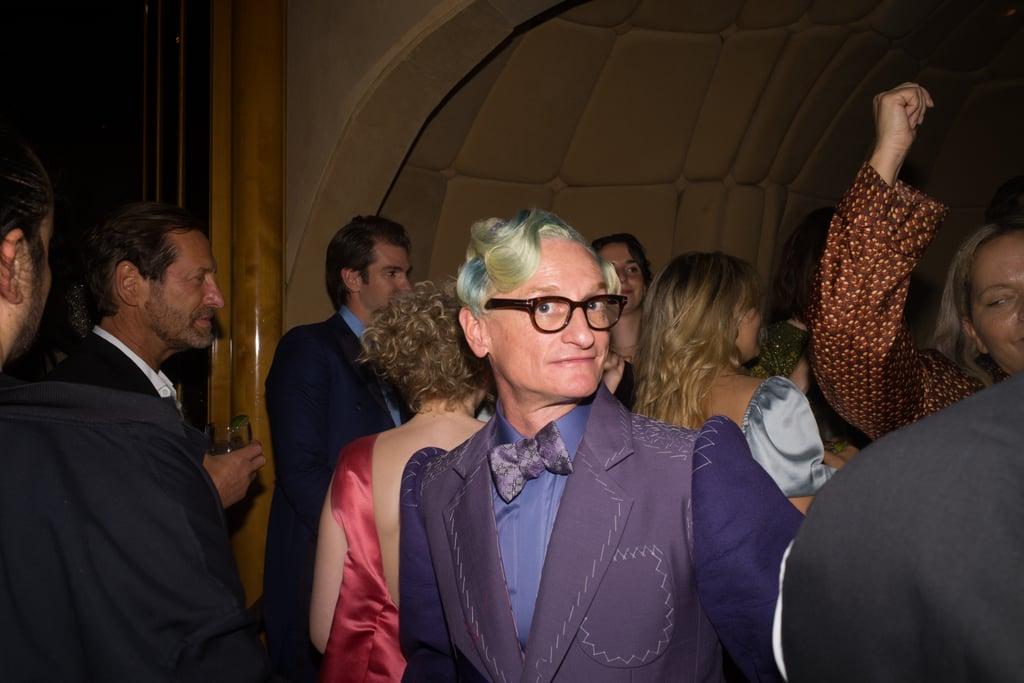 Hamish Bowles at the Met Gala Afterparty