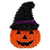 Halloween Tinsel Pumpkin Decorations