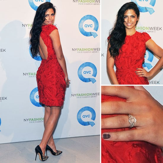 Camila Alves Engagement Ring Pictures