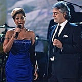 Mary J. Blige and Andrea Bocelli's Haiti Tribute
