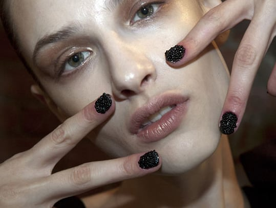 Re-Creating Fashion Week's Caviar Nails