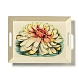 John Derian Floral-Print Melamine Serving Tray With Handles