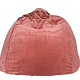 It's a bean bag and it's velvet. Add to cart! Kip & Co. Velvet Beanbag ($139)