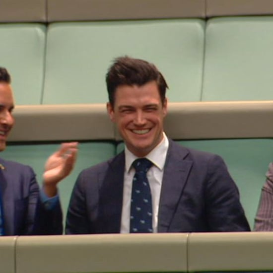 Australian Parliament Member Proposes to Boyfriend in Speech