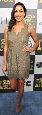 Rosario Dawson Style at The Independent Spirit Awards