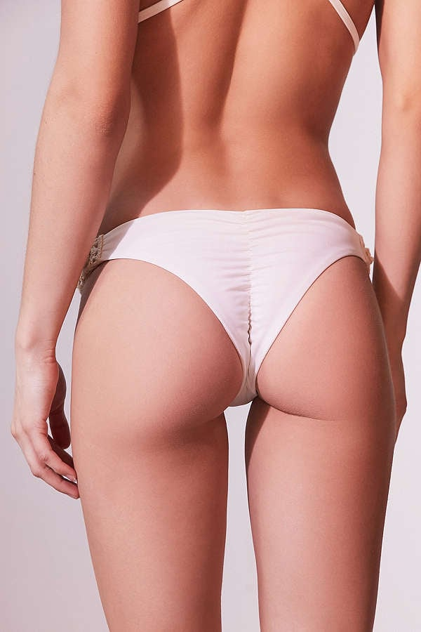 FULL BOTTOMS Discover our flattering full coverage bikini bottoms that only show what you want. Choose from flirty skirts, sporty shorts, & trendy high waisted bikini bottoms to create a confident look. skirted swim bikini bottom $36 more colors available.