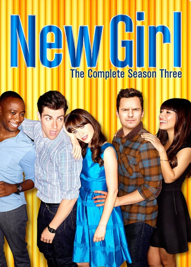 New Girl: The Complete Season Three DVD ($8)