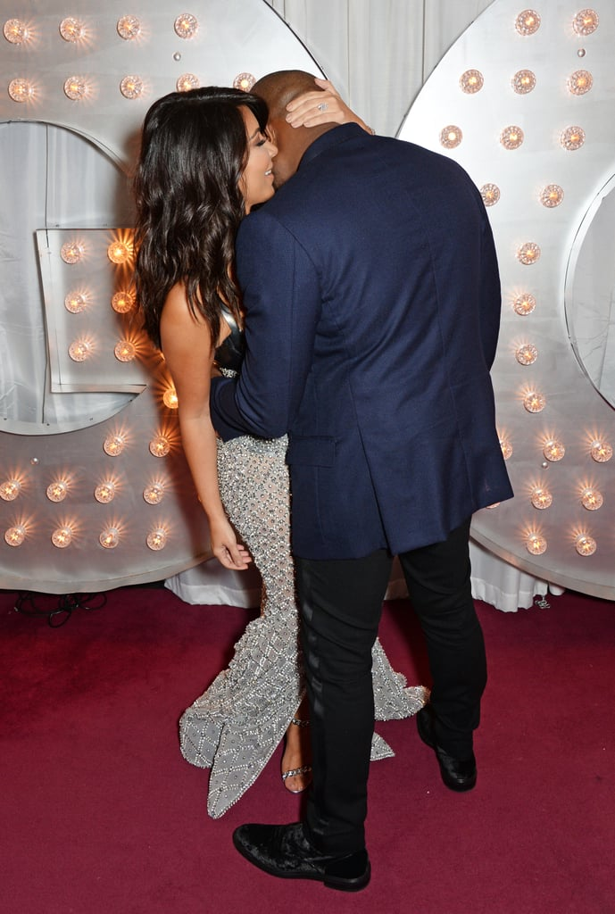 Kim and Kanye couldn't keep their PDA to themselves at the GQ Men of the Year Awards in London in Sept. 2014.