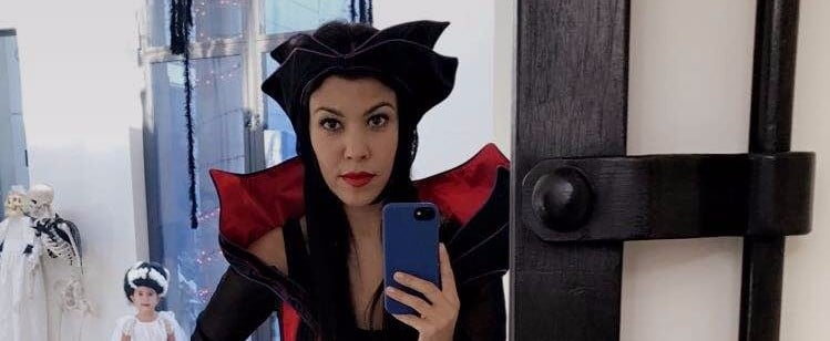 Kourtney Kardashian's Halloween Decorations Are the Perfect Mix of Spooky and Classy