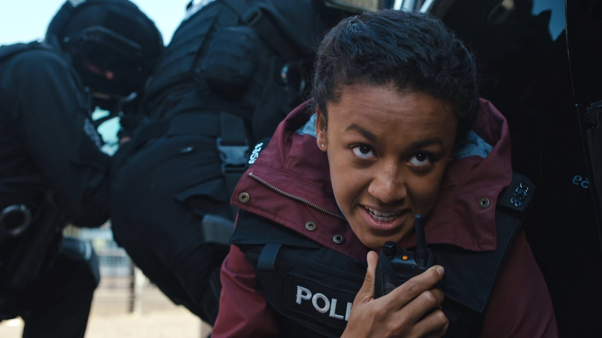 Programme Name: Line of Duty S6 - TX: 11/04/2021 - Episode: Line Of Duty - Ep 4 (No. n/a) - Picture Shows:  DC Chloe Bishop (SHALOM BRUNE-FRANKLIN) - (C) World Productions - Photographer: Screen Grab