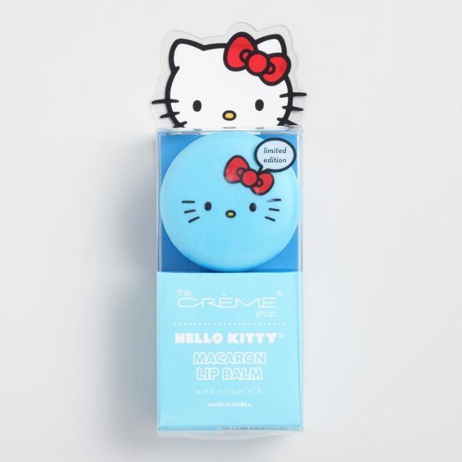Hello Kitty Mint Macaron Lip Balm