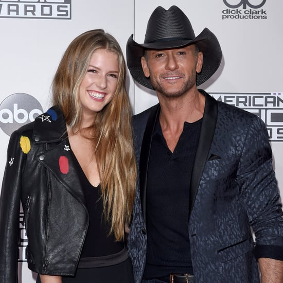 Tim mcgraw and faith hill at acm awards 2016 popsugar for How old are faith hill s daughters