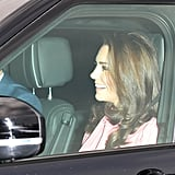 Royal Family at the Queen's Christmas Lunch December 2018
